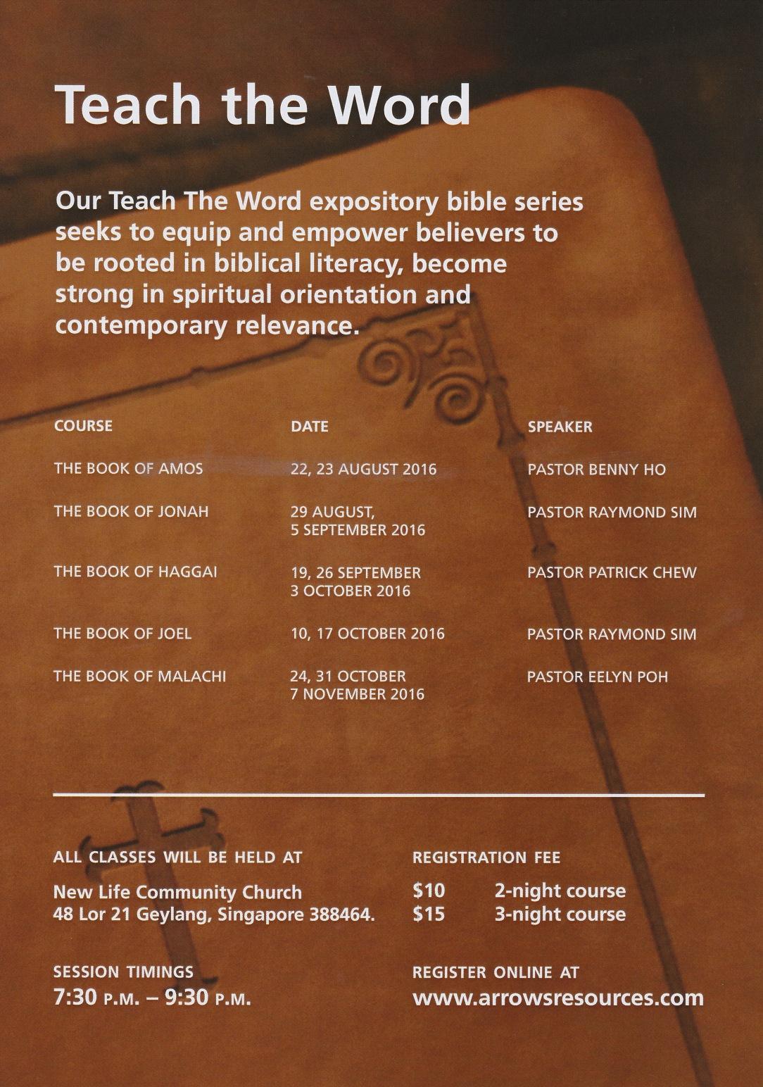 Teach the Word 1